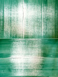 Grunge discolored green panels Royalty Free Stock Photos