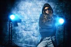 Grunge do hip-hop imagem de stock royalty free