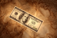 Grunge dollar background Royalty Free Stock Photo
