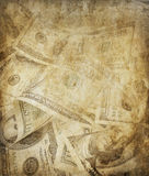 Grunge dollars background Stock Photography