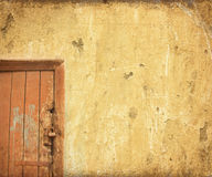 Grunge door background Royalty Free Stock Photography