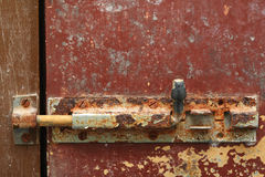 Grunge door lock Royalty Free Stock Photography