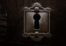 Grunge door lock Royalty Free Stock Images