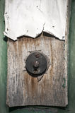 Grunge doorbell button Royalty Free Stock Images