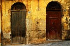 Grunge Doorway Background Royalty Free Stock Image