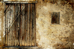 Grunge doorway background Royalty Free Stock Images