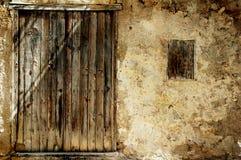 Grunge Doorway Background Royalty Free Stock Images