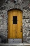 Grunge doorway Stock Photo