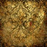 Grunge dorato Immagine Stock Libera da Diritti