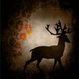 Grunge dos animais selvagens ilustração stock