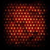 Grunge dots background Stock Image