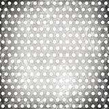 Grunge dots background. In retro style stock illustration