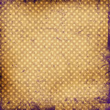 Grunge dots background Stock Photography