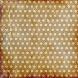 Grunge dotted background Royalty Free Stock Photos