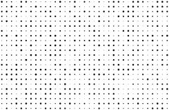 Grunge dotted bckground with circles, dots, point different size, scale. Halftone pattern. Stock Image