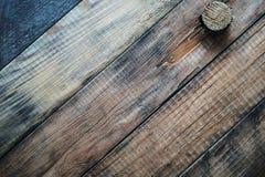 Grunge drewniany tło z korkiem zdjęcia royalty free