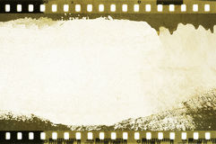 Grunge dripping film strip frame. With copy space for text or image Stock Photo