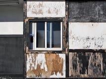 Grunge Drive Through Pickup Window. Royalty Free Stock Photography