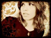 grunge dziewczyny fotografia royalty free