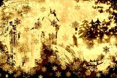 Grunge e inverno oxidado ilustração royalty free