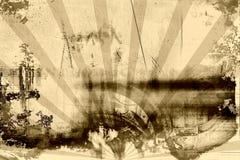 Grunge e vintage oxidado ilustração do vetor