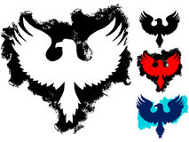 Grunge eagle tattoo Royalty Free Stock Images