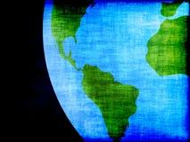 Grunge earth design Stock Image