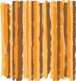 Grunge Earth Tone Stripe. Orange, brown and beige color grunge vector stripes with rough edges Royalty Free Stock Photos