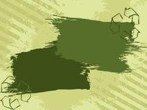 grunge eco знамени Стоковые Фотографии RF