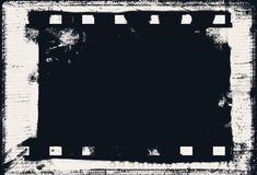 Grunge ekranowa rama z przestrzenią dla teksta lub wizerunku Zdjęcie Royalty Free