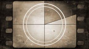 Grunge ekranowej ramy tło z rocznika filmu odliczanie Fotografia Royalty Free