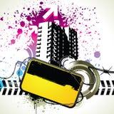 Grunge Elemente Lizenzfreies Stockfoto