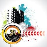 Grunge elements. On white background vector illustration