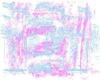 Grunge elements texture. Pastel hand drawn. royalty free illustration