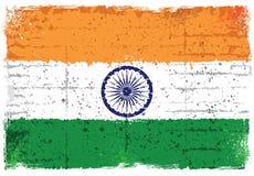 Grunge elementy z flaga India ilustracja wektor