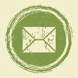 Grunge Email Stock Image