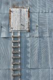 Grunge en bois d'échelle Photos stock