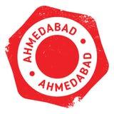 Grunge en caoutchouc de timbre d'Ahmedabad Illustration Stock