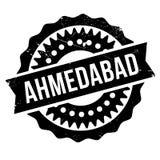 Grunge en caoutchouc de timbre d'Ahmedabad Illustration de Vecteur