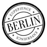 Grunge en caoutchouc de timbre de Berlin Photos libres de droits