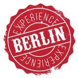 Grunge en caoutchouc de timbre de Berlin Photo stock