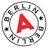 Grunge en caoutchouc de timbre de Berlin Image libre de droits