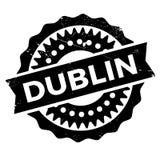 Grunge en caoutchouc de timbre de Dublin Image libre de droits