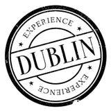 Grunge en caoutchouc de timbre de Dublin Photos libres de droits