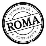 Grunge en caoutchouc de timbre de Roma illustration libre de droits