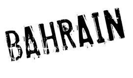 Grunge en caoutchouc de timbre du Bahrain Photo libre de droits