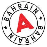 Grunge en caoutchouc de timbre du Bahrain Photo stock