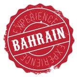 Grunge en caoutchouc de timbre du Bahrain Photos libres de droits