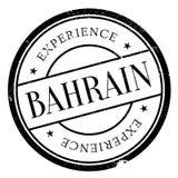 Grunge en caoutchouc de timbre du Bahrain Photographie stock libre de droits