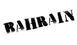 Grunge en caoutchouc de timbre du Bahrain Photographie stock